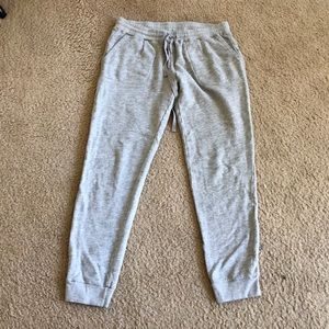 Joie soft gray sweatpants size small